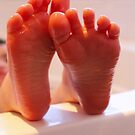 Bathtime Tootsies by Cherie Vivar