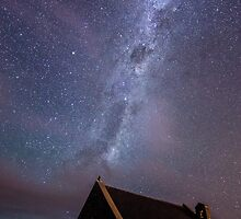 Milky Way - Church of the Good Shepherd by Kimball Chen