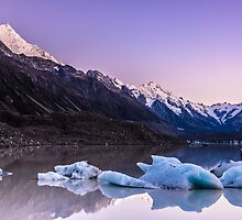 Tasman Glacier Lake - New Zealand by Kimball Chen