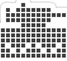PIXEL8 | Army Tank | Black Ops Sticker