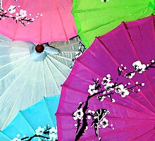 Chinese Parasols - iPhone/iPod Case by Anthony Woolley