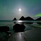 Auroras and Venus by Frank Olsen