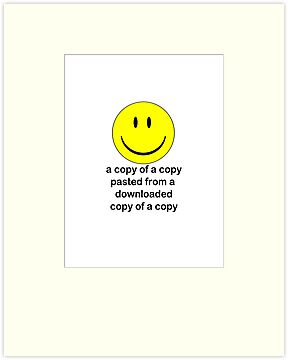 A Copy of a Copy.... by Charles McFarlane