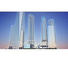 New World Trade Center rendering Photographic Print