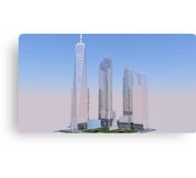 New World Trade Center rendering Canvas Print