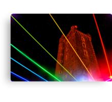 Rainbow Tower Canvas Print