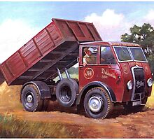 Foden DG tipper by Mike Jeffries