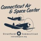 Connecticut Air & Space Center Corsair Design (Blue)  by warbirdwear