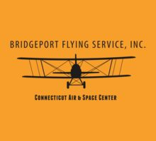 Bridgeport Flying Service Inc. (Black) by warbirdwear
