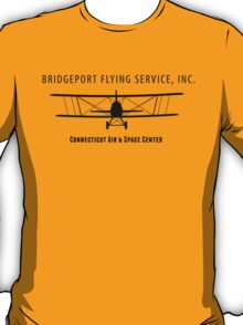 Bridgeport Flying Service Inc. (Black) T-Shirt