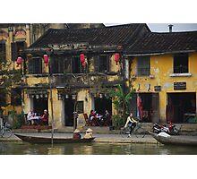 Buildings of Hoi An, Vietnam Photographic Print