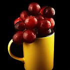 Mug with Grapes by photoshot44
