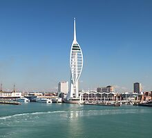 Spinnaker Tower by Yampimon