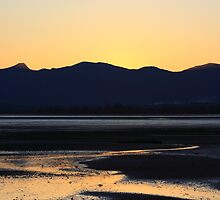Inlet and mountains by Duncan Cunningham
