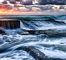 Turbulent Sunrise by Maxwell Campbell