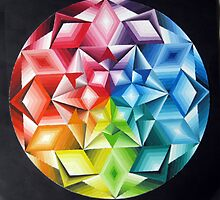 Colour wheel  by Karin Zeller