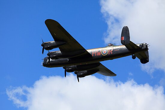 Avro Lancaster City of Lincoln by Mark Baldwyn