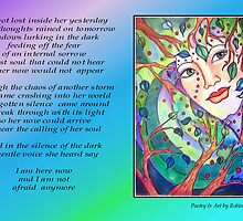 Poetry in Art - The Voice Within by Robin Monroe