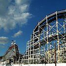 The Cyclone - Coney Island by Amanda Vontobel Photography