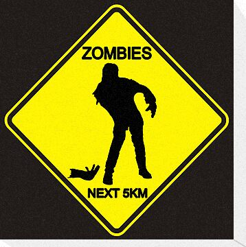 Zombies Ahead by digihill