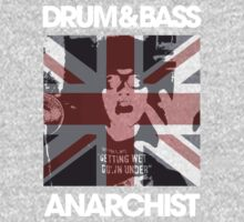 DRUM & BASS ANARCHIST (dark) by DropBass