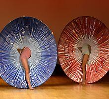 Bolivian Dance Troupe - Plate No. #  4655 by Matsumoto