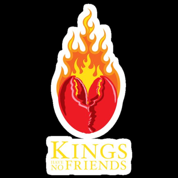 Fiery Lobster Claw Heart Sigil by JenSnow