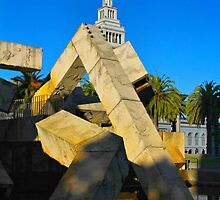 San Francisco Contrasts by Barbara  Brown