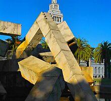 San Francisco Contrasts by Barbara  Brown