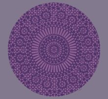 purple crown chakra by offpeaktraveler