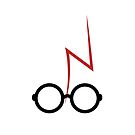 Harry Potter - Glasses and scar by EF Fandom Design