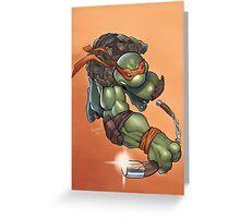 Michelangelo - TMNT Greeting Card