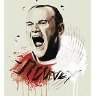 Wayne Rooney by Nick Symeou
