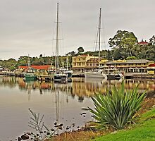 Strahan Esplanade from Risby Cove by TonyCrehan