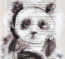 Panda girl 1 by Tatjana Larina