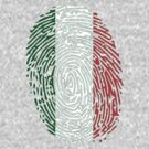 Flag of Italy Thumbprint by nadil
