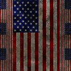 Grungy American Flag Case by Jenifer Jenkins