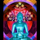Blue Buddha by Tammy Wetzel