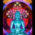 Blue Buddha by Tammy Wetzel