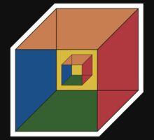 BEWARE HYPNO-CUBE color version by ZugArt