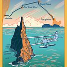 Lord Howe Island Francis Chichester's Gipsy Moth by contourcreative