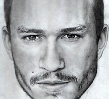 Heath Ledger by mellimac
