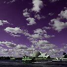 Purple Sky by Marius Brecher