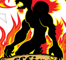 Ifrit's Hellfire Hot Sauce Sticker