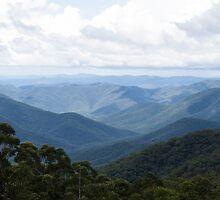 distant hills by Anne Scantlebury