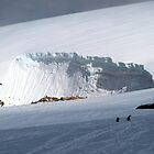 Snow drift , Antarctica by geophotographic