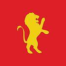 Gryffindor Lion by Nick Symeou