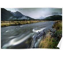 The Misty Mountains - Cascade Creek  Poster