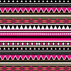 Pink Aztec Pattern by sirmaverick