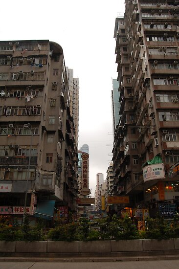 Kowloon Hong Kong by Andrew Hennig